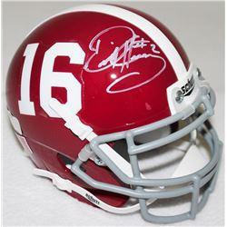 Derrick Henry Signed Alabama Mini-Helmet (Radtke COA)