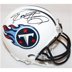Derrick Henry Signed Titans Mini-Helmet (Henry Hologram)