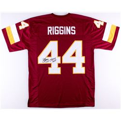 "John Riggins Signed Redskins Jersey Inscribed ""SB XVII MVP"" (JSA COA)"