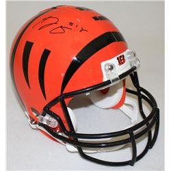 A. J. Green Signed Bengals Full-Size Helmet (Radtke COA)