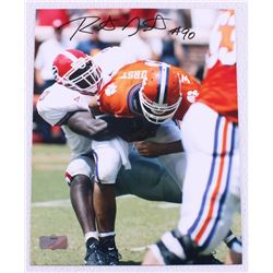 Robert Geathers Signed Georgia 8x10 Photo (Radtke Hologram)