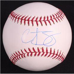 Curt Schilling Signed OML Baseball (Steiner COA)