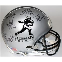 Heisman Trophy Full-Size Authentic Pro-Line Helmet Signed  Inscribed by (21) winners with Bo Jackson