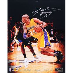 Kobe Bryant Signed Lakers  The Finale  16x20 Photo Limited Edition #1/24 (Panini COA)