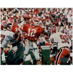 John Lastinger Signed Georgia Bulldogs 8x10 Photo (Radtke COA)