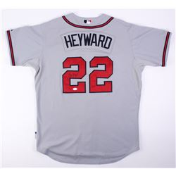 Jason Heyward Signed Game-Issued Braves Jersey (JSA COA)