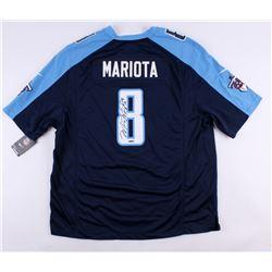 Marcus Mariota Signed Titans Nike Authentic On-Field Jersey (UDA COA)