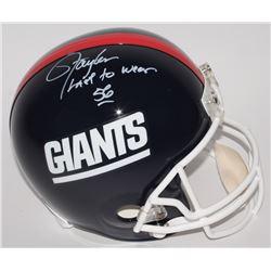 "Lawrence Taylor Signed Giants LE Full-Size Helmet Inscribed ""Last To Wear 56"" (Radtke COA)"