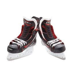 "Pair of (2) Connor McDavid Signed CCM JetSpeed Skates Inscribed ""NHL Debut 10/9/15"" LE 25 (UDA COA)"