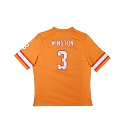 """Jameis Winston Signed Buccaneers LE Nike Jersey Inscribed """"2015 1st Overall Pick"""" (UDA COA)"""
