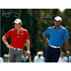 "Tiger Woods  Rory McIlroy Signed ""Focus"" 16x24 Photo (UDA COA)"