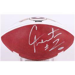 Cam Newton Signed LE Auburn 2011 National Champions Logo Football (UDA COA)