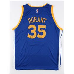 "Kevin Durant Signed LE Warriors Authentic Adidas Swingman Jersey Inscribed ""GSW"" (Panini COA)"