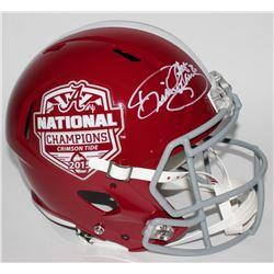 Derrick Henry Signed Alabama 2015 National Champions Full-Size Speed Helmet (Henry Hologram)