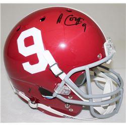 Amari Cooper Signed Alabama Full-Size Helmet (Radtke COA)