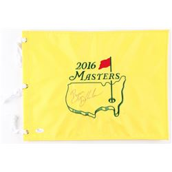 Bryson Dechambeau Signed 2016 Masters Pin Flag (JSA COA)