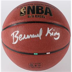 Bernard King Signed Spalding Full-Size Basketball (JSA COA)