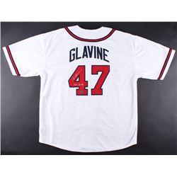 "Tom Glavine Signed Braves Jersey Inscribed ""HOF 2014"" (Radtke COA)"