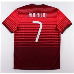 Cristiano Ronaldo Signed Team Portugal Authentic Nike Soccer Jersey (Ronaldo COA)