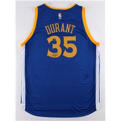 Kevin Durant Signed Warriors Authentic Adidas Swingman Jersey (Panini COA)