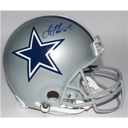 "Troy Aikman Signed Limited Edition Cowboys Full-Size Authentic Pro-Line Helmet Inscribed ""HOF '06"" #"