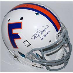 Steve Spurrier Signed Florida Gators Throwback Full-Size Authentic Pro-Line Helmet Inscribed  66 Hei