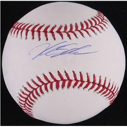 Kyle Schwarber Signed OML Baseball (Schwartz COA)
