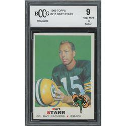 1969 Topps #215 Bart Starr (BCCG 9)