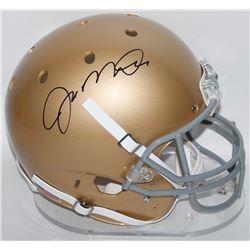 Joe Montana Signed Notre Dame Fighting Irish Full-Size Helmet (Radtke COA)