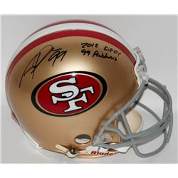 """Aldon Smith Signed 49ers Full-Size Authentic Pro-Line Helmet Inscribed """"2012 DPOY""""  """"99 Problems"""" (R"""