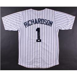 "Bobby Richardson Signed Yankees Jersey Inscribed ""60 W.S. MVP"" (JSA COA)"