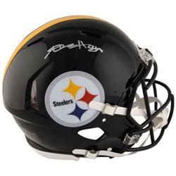 Antonio Brown Signed Steelers Full-Size Authentic Pro-Line Speed Helmet (Fanatics)
