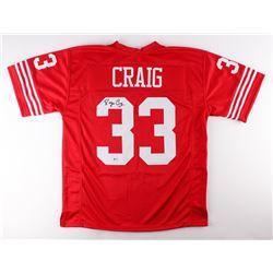 Roger Craig Signed 49ers Jersey (Beckett COA)
