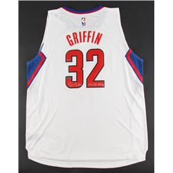 """Blake Griffin Signed LE Clippers Authentic Adidas Jersey Inscribed """"10-11 ROY"""" (Panini COA)"""