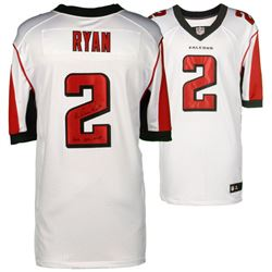 "Matt Ryan Signed Falcons Authentic Nike Elite Jersey Inscribed ""2016 NFL MVP"" (Fanatics)"