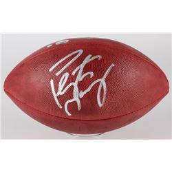 Peyton Manning Signed Official NFL Game Ball (Steiner COA  Fanatics Hologram)