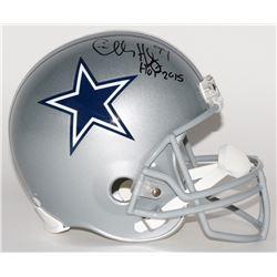 "Charles Haley Signed Cowboys Full-Size Helmet Inscribed ""HOF 2015"" (JSA COA)"