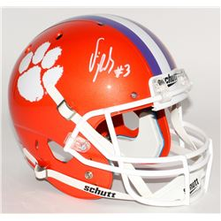 Vic Beasley Signed Clemson Tigers Full-Size Helmet (JSA COA)