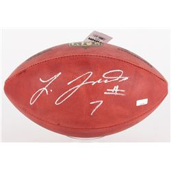 "Leonard Fournette Signed NFL ""The Duke"" Football (Panini COA)"