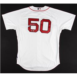 Mookie Betts Signed Red Sox Authentic Majestic Jersey (Fanatics  MLB)