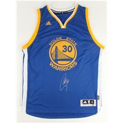 Stephen Curry Signed Adidas Swingman Warriors Jersey (Fanatics)