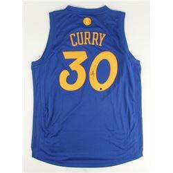 Stephen Curry Signed Adidas Christmas Day Swingman Warriors Jersey (Fanatics)