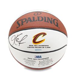 Kevin Love Signed Commemorative Cleveland Cavaliers 2016 Championship Basketball (UDA COA)