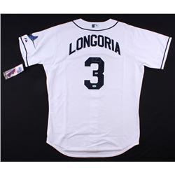 Evan Longoria Signed Rays Jersey (MLB Hologram, Longoria Hologram,  Radtke COA)
