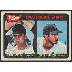 1965 Topps #477 Rookie Stars Fritz Ackley / Steve Carlton RC