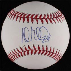 Andrew Miller Signed OML Baseball (MLB Hologram)