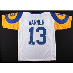 Kurt Warner Signed Rams Jersey (JSA COA)