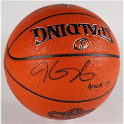 "Kevin Durant Signed LE NBA All-Star Game Ball Series Basketball Inscribed ""NOLA 17"" (Panini COA)"