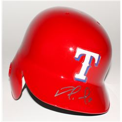 Nomar Mazara Signed Rangers Full-Size Authentic Batting Helmet (MLB Hologram)