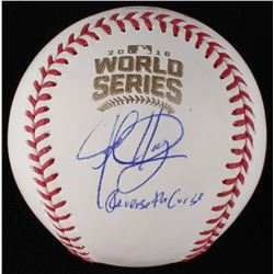 Jed Hoyer  Jason McLeod Signed World Series Baseball (JSA COA)